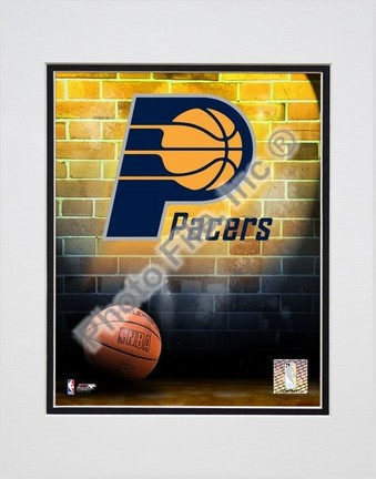 "Indiana Pacers ""2006 Logo"" Double Matted 8"" X 10"" Photograph (Unframed)"
