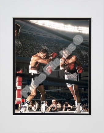 "Muhammad Ali #7 Double Matted 8"" X 10"" Photograph (Unframed)"