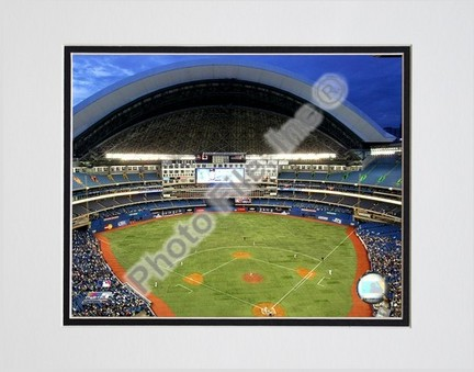 "Rogers Centre ""2006 Toronto Blue Jays"" Double Matted 8"" x 10"" Photograph (Unframed)"