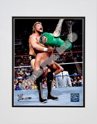 "Ted DiBiase #355 Double Matted 8"" X 10"" Photograph (Unframed)"