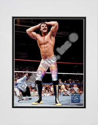 "Ravishing Rick Rude #353 Double Matted 8"" X 10"" Photograph (Unframed)"
