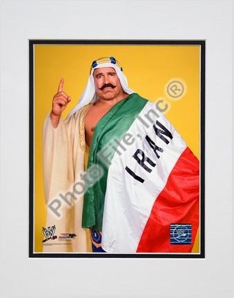 """Iron Sheik #350 Double Matted 8"""" X 10"""" Photograph (Unframed)"""
