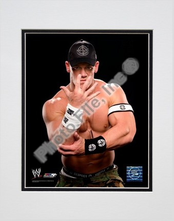 "John Cena #368 Double Matted 8"" X 10"" Photograph (Unframed)"