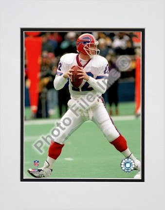 """Jim Kelly """"Dropping Back"""" Double Matted 8"""" x 10"""" Photograph (Unframed)"""