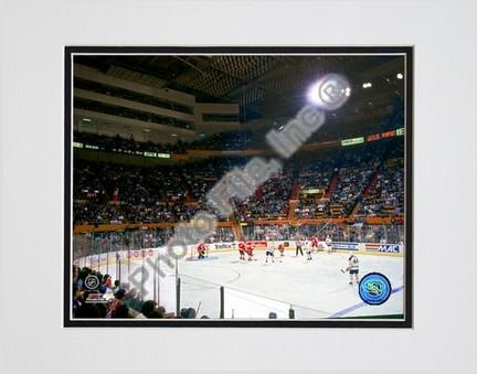Buffalo Sabres Buffalo Memorial Auditorium Double Matted 8 X 10 Photograph Unframed