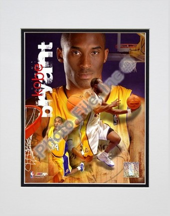 "Kobe Bryant ""2006 Portrait Plus"" Double Matted 8"" X 10"" Photograph (Unframed)"