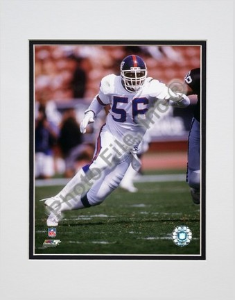 """Lawrence Taylor """"1993 Action"""" Double Matted 8"""" x 10"""" Photograph (Unframed)"""