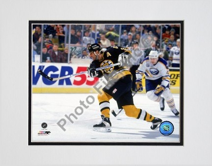 Cam Neely Action Double Matted 8 x 10 Photograph Unframed