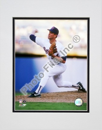"Nolan Ryan ""1991 Action"" Double Matted 8"" x 10"" Photograph (Unframed)"
