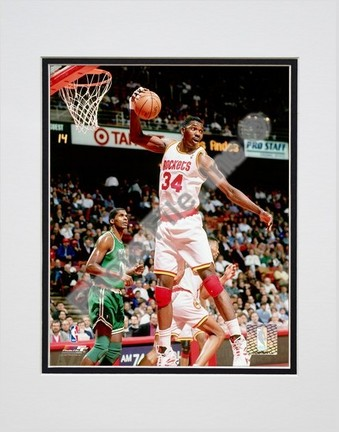 "Hakeem Olajuwon ""1994 Action"" Double Matted 8"" x 10"" Photograph (Unframed)"
