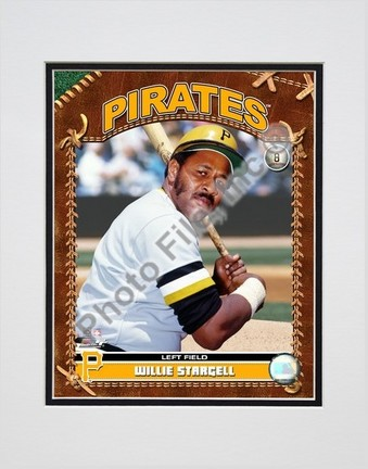"Willie Stargell ""2007 Vintage Studio Plus"" Double Matted 8"" x 10"" Photograph (Unframed)"