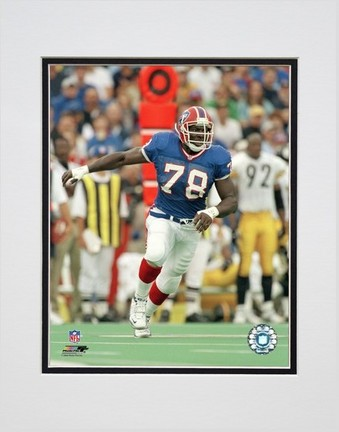 """Bruce Smith """"""""Action"""""""" Double Matted 8� x 10� Photograph (Unframed)"""" PHF-AAIL101-33"""