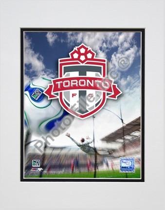 "Toronto FC ""2007 Team Logo"" Double Matted 8"" x 10"" Photograph (Unframed)"