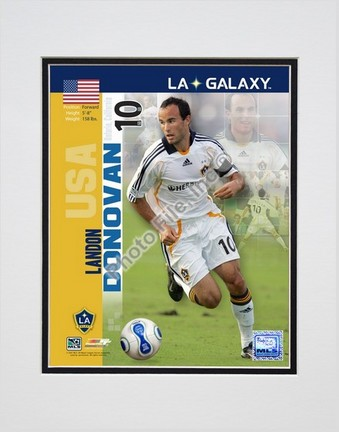 "Landon Donovan """"2007 International Series #26"""" Double Matted 8"""" x 10"""" Photograph (Unframed)"" PHF-AAIO155-33"