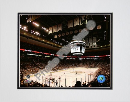 """TD Banknorth Garden """"""""2006 - 2007 NHL"""""""" Double Matted 8"""""""" x 10"""""""" Photograph (Unframed)"""" PHF-AAIO226-33"""