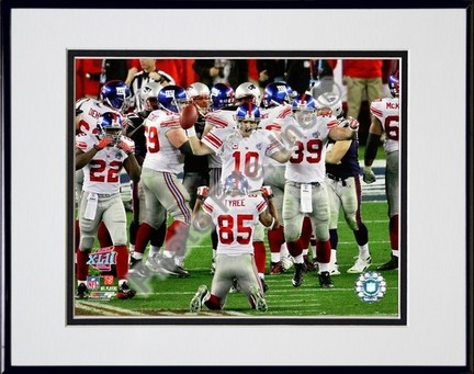 New York Giants Super Bowl XLII Champions Thematic Bear