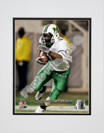"Ahmad Bradshaw ""Marshall University Thundering Herd 2004 Action"" Double Matted 8"" x 10"" Photograph (Unfram"