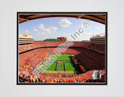 "Neyland Stadium ""Univserity of Tennessee Volunteers; 2007"" Double Matted 8"" x 10"" Photograph (Unframed)"