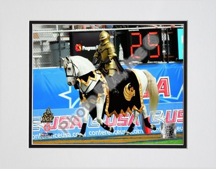 "UCF (Central Florida) Knights Mascot 2007 Double Matted 8"" x 10"" Photograph (Unframed)"