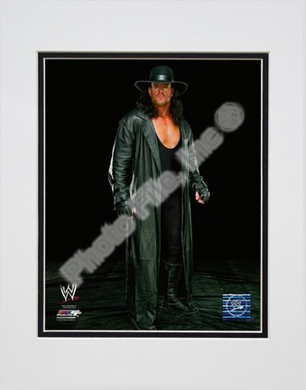"The Undertaker #531 Double Matted 8"" x 10"" Photograph (Unframed)"