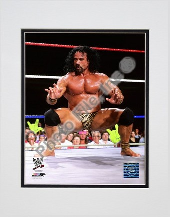 "Jimmy ""Superfly"" Snuka #553 Double Matted 8"" x 10"" Photograph (Unframed)"