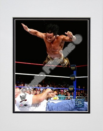 "Jimmy ""Superfly"" Snuka #552 Double Matted 8"" x 10"" Photograph (Unframed)"