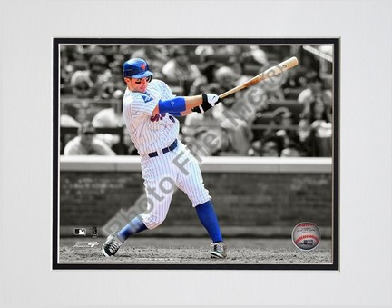 """David Wright """"Spotlight Collection"""" Double Matted 8"""" x 10"""" Photograph (Unframed)"""