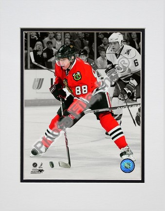 "Patrick Kane Spotlight Collection Double Matted 8"" x 10"" Photograph (Unframed)"