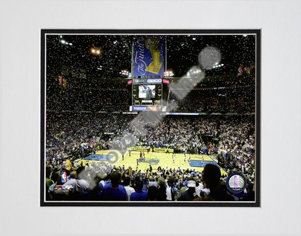 """Amway Arena """"2009 NBA Finals / Game 3 (#13)"""" Double Matted 8"""" x 10"""" Photograph (Unframed)"""