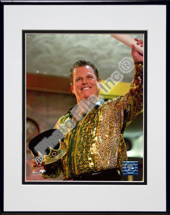 "Jerry Lawler #562 Double Matted 8"" x 10"" Photograph (Unframed)"
