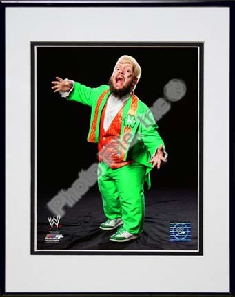 "Hornswoggle Double Matted 8"" x 10"" Photograph in Black Anodized Aluminum Frame"
