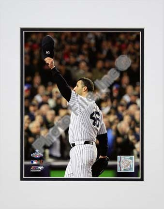"""Andy Pettitte Game Six of the 2009 MLB World Series (#24) Double Matted 8"""" x 10"""" Photograph (Unframed)"""