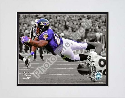 """Ray Rice 2009 Spotlight Collection Double Matted 8"""" x 10"""" Photograph (Unframed)"""