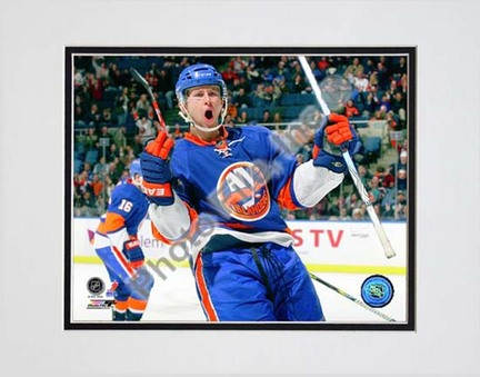 """Josh Bailey 2009 - 2010 Action """"Celebrate"""" Double Matted 8"""" x 10"""" Photograph (Unframed)"""