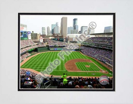 """Target Field 2010 Interior Double Matted 8"""" x 10"""" Photograph (Unframed)"""