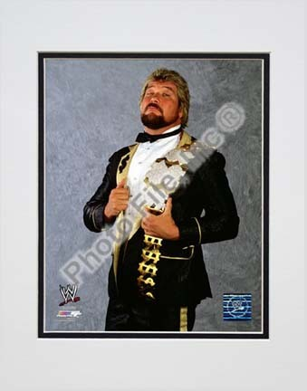 "Ted DiBiase ""The Million Dollar Man"" Double Matted 8"" x 10"" Photograph (Unframed)"