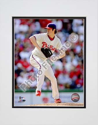 Click here for Cole Hamels 2010 Action Side View Double Matted 8â... prices