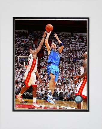 "Jason Kidd Dallas Mavericks 2011 NBA Finals ""Game 6"" Action (#28) Double Matted 8"" X 10"" Photograph"