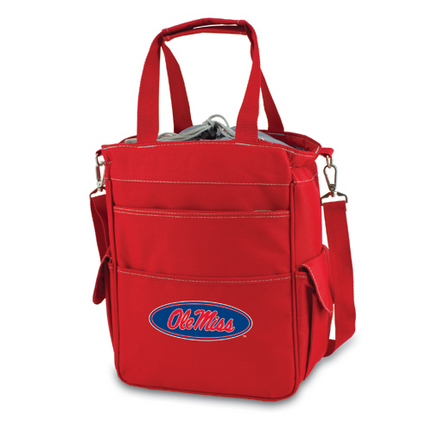 """Mississippi (Ole Miss) Rebels Red """"Activo"""" Waterproof Tote with Screen Printed Logo"""