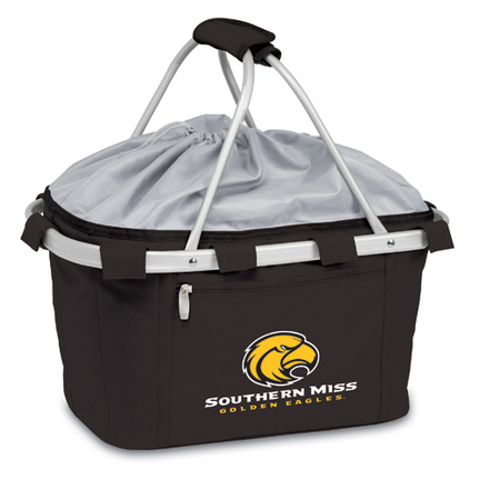"Southern Mississippi Golden Eagles ""Metro"" Picnic Basket with Screen Printed Logo"