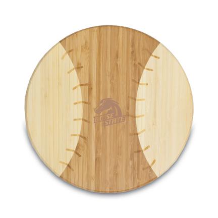 """Boise State Broncos """"Homerun!"""" Baseball Cutting Board (Bamboo)"""