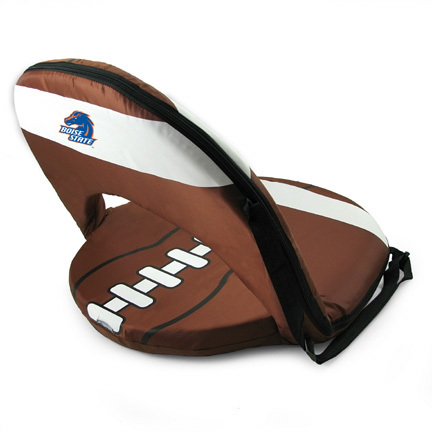 """Boise State Broncos """"Seat Sport"""" Portable Recreational Recliner"""