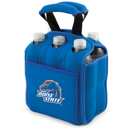 "Boise State Broncos ""Six Pack"" Insulated Cooler Tote with Screen Printed Logo"