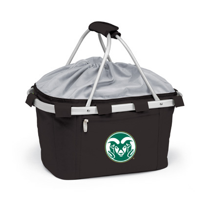Colorado State Rams Collapsible Picnic Basket