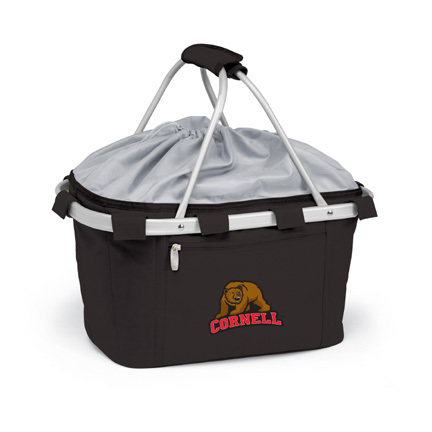 Cornell Big Red Bears Collapsible Picnic Basket
