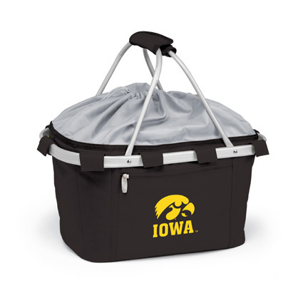 Iowa Hawkeyes Collapsible Picnic Basket