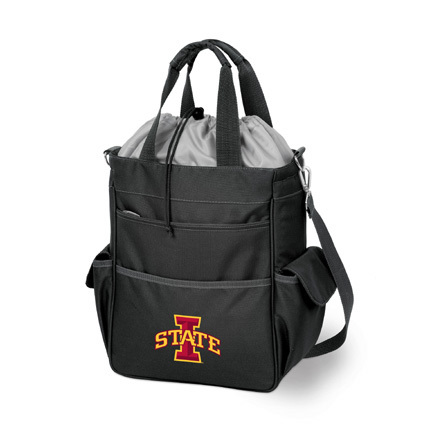 """Iowa State Cyclones """"Activo"""" Waterproof Tote with Screen Printed Logo"""