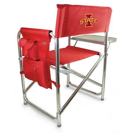 Iowa State Cyclones Aluminum Sports Chair