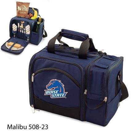 "Boise State Broncos ""Malibu"" Insulated Picnic Tote / Shoulder Pack with Screen Printed Logo"