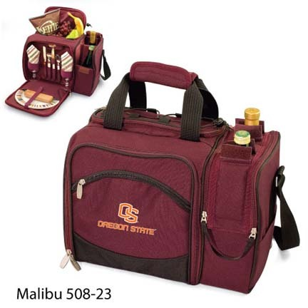 """Oregon State Beavers """"Malibu"""" Insulated Picnic Tote / Shoulder Pack with Screen Printed Logo"""